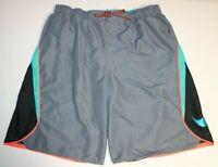 Mens Nike Board Surf Swim Swimwear Swimming Shorts Trunks XL Gray Green 718375
