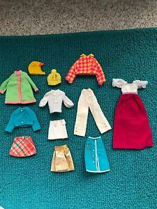 Vintage Barbie Francie & Skipper MOD CLOTHES LOT