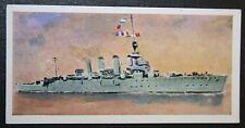 HMS Chester  World War 1  Royal Navy Cruiser   Card  VGC