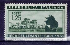 ITALIA 1952 FIERA DEL LEVANTE A BARI  1V NUOVO MNH **