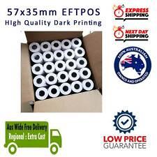100 Rolls 57x35mm Thermal Roll EFTPOS Cash register Roll