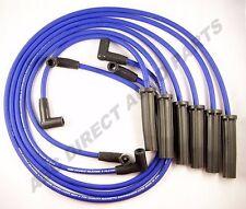 GM 8 mm Blue Mag Spiral Core Spark Plug Ignition Wire Set M6-48308