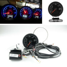 "Car 2.5"" 62mm 7 Colors LCD Display Turbo Boost Gauge Voltage Meter with Bracket"