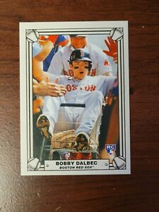 NEW Bobby Dalbec 2021 Topps 582 Montgomery Club Set #3 RC Rookie Lost Design