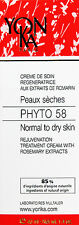 Yonka Phyto 58 PS Cream Dry Sensitive Skin 1.4oz / 40ml  NEW*** Sale*** Sale
