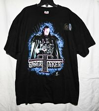 Vintage 90s UNDERTAKER - Preacher Of Darkness T-Shirt (XL) WWF WWE