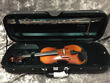 Hofner H5D 3/4 Violin Outfit, Bow, Strap, Rosin & Case - NEW