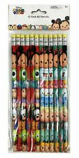 Disney Tsum Tsum Pencils School stationary Supplies 12pc