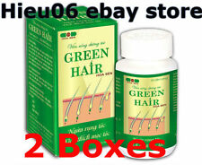 2 x Green hair nourish the hair conditioner, restore the damaged hair follicles