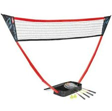 Zume Portable Badminton Set with Free Standing Base