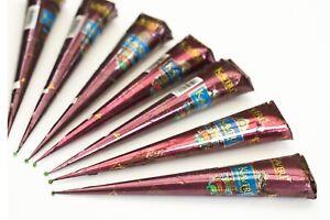 BUY 1 GET 1 FREE KAVARI Henna Mehndi Tattoo Pen Natural Red/Brown, FREEPOST tqk