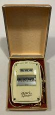 Bertram Bewi Automat light meter...original box/instructions/chain....Germany