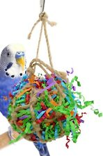 1396 Tiny Bonka Shredder Ball Bird Toy cages foraging toy parrot parakeet pet