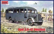 OPEL Blitz 3.6-47 OMNIBUS W.39 (Wehrmacht & Afrika Korps MKGS) 1/72 Roden