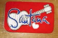 Santana Collectable Rare Vintage Patch Embroided 90'S Metal Live
