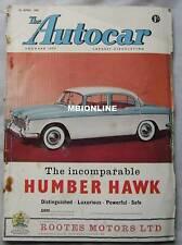 Autocar magazine April 25/4/1958 featuring Facel Vega F.V.S. road test, Alvis