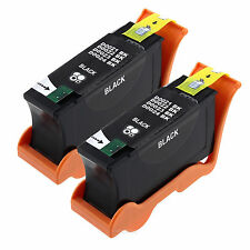 2 Black HY Ink Series 21 for DeLL 21 22 23 24 V313 V313w V515w V715w