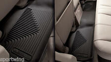 For: CADILLAC ESCALADE EXT 53101 53201 Front AND Back X-Act Mats BLACK 2007-2013