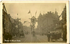 NORWICH( Norfolk) : Lower Prince of Wales Road decorated - Royal Visit RP-MIRROR