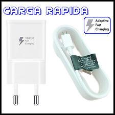 CARGADOR CARGA RAPIDA CABLE MICRO USB PARA SAMSUNG GALAXY S6 S7 S8 EDGE NOTE 4