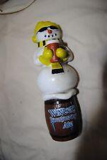 "Michelob Winter's Bourbon Cask Ale Snowman Keg Tap Beer Handle 9 1/2"" Tall $22"