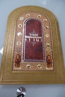 BJ15 Large Hebrew-English Jewish TORAH Holy Bible 5 Books of Moses Pentateuch