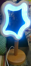 "USB COLOUR CHANGING MIRROR/LIGHT 13"" HIGH NEW"