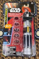 Disney Star Wars Lite Force Project-A-Lite 2 In 1 Flashlight & Projector New
