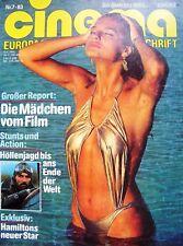 JAMES BOND + 007 + CINEMA + 07/1983 + TOM SELLECK + ADRIANO CELENTANO + CHEECH +