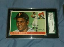 1955 Topps Roberto Clemente Pittsburgh Pirates Rookie!!  SGC 3 VG/40