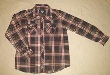 Jonathan Martin Collection Boys Casual Button Up Plaid Check Long Sleeve Shirt84