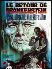 Affiche -  RETOUR DE FRANKENSTEIN (le) - 60x80cm