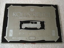 GENUINE ORIGINAL 1920S VINTAGE ROLLS-ROYCE THE BEST CAR IN THE WORLD ADV MIRROR