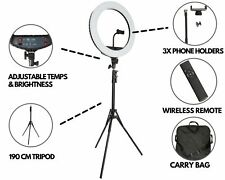 18 inch LED Ring Light with Stand & Phone Holder – Make Up Beauty YouTube Video
