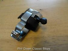 """Universal Chrome Horn Dip Switch 7/8"""" 2 position. Motorcycle BSA Norton AJS"""