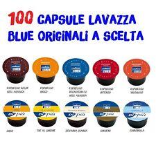 100 CIALDE CAPSULE CAFFE' LAVAZZA BLUE BLU DOLCE RICCO INTENSO VIGORO DEK SCELTA