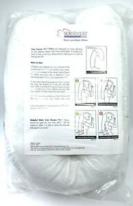 NEW SEALED SideSleeper Pro Pillow and Pillow Case FAST FREE SHIP without BOX