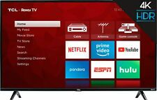 "TCL - 50"" Class - LED - 4 Series - 2160p - Smart - 4K UHD TV with HDR - Roku TV"