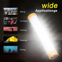 LED Light Outdoor Camping Hiking Tent Lamp USB Rechargeable Flashlight Lantern