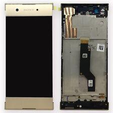 Sony écran LCD complet avec cadre pour Xperia XA1 et double doré