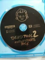 Deadpool 2 (4K Ultra HD Disc ONLY ) THEATRICAL CUT. With BluRay Case