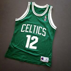 100% Authentic Dominique Wilkins Vintage Champion Celtics Jersey Size 40 M Mens