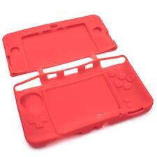 Cover Case Alloggiamento silicone rosso per Nintendo 3DS