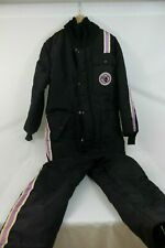 One Piece Arctic Cat Unisex Purple Black Vintage Snow Suit Size S