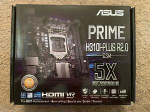 ASUS PRIME H310I-PLUS R2.0/CSM LGA 1151 (Socket H4) mini ITX Intel® H310