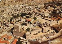 BR4307 Jerusalem Foreground the citadel and jafta Gate   israel