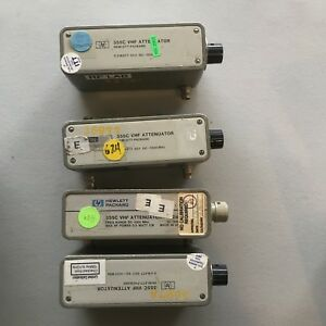 HP 355C Variable Step Attenuator