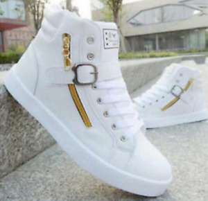 Men's Casual High Top Sport Shoes Sneakers Athletic Running Shoes