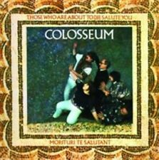 COLOSSEUEM - THOSE WHO ARE ABOUT TO DIE SALUTE YOU. USED, VGC