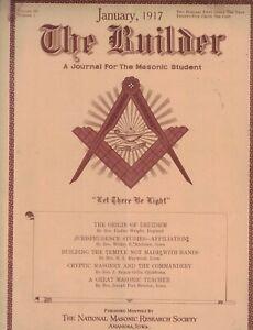 1917 Masonic Builder February - Rites of Druidism; Masonry among the primitives